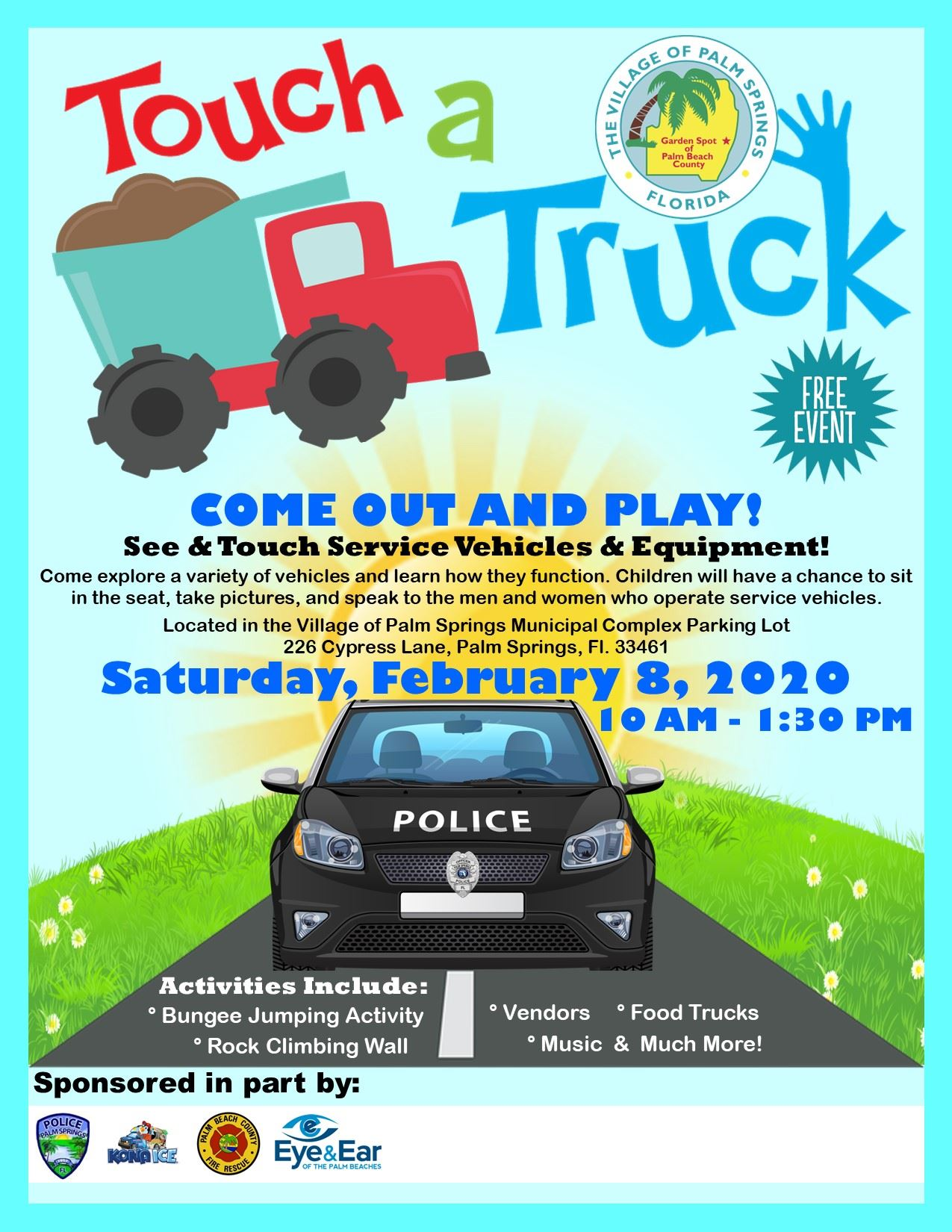 Touch A Truck 2020