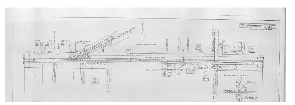 1960 Record Drawing for Lake Worth Rd.
