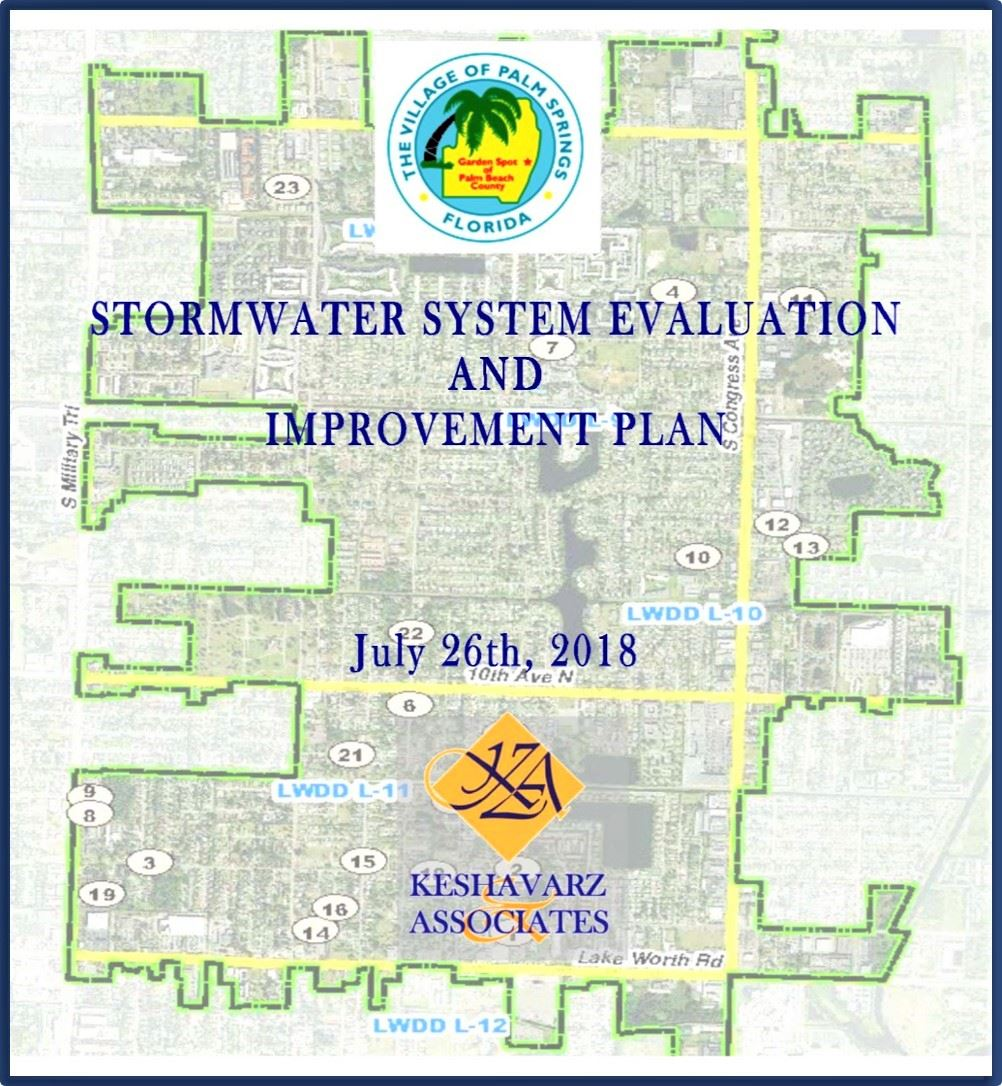 Stormwater System Evaluation and Improvement Plan July 26,2018 Keshavarz Associates