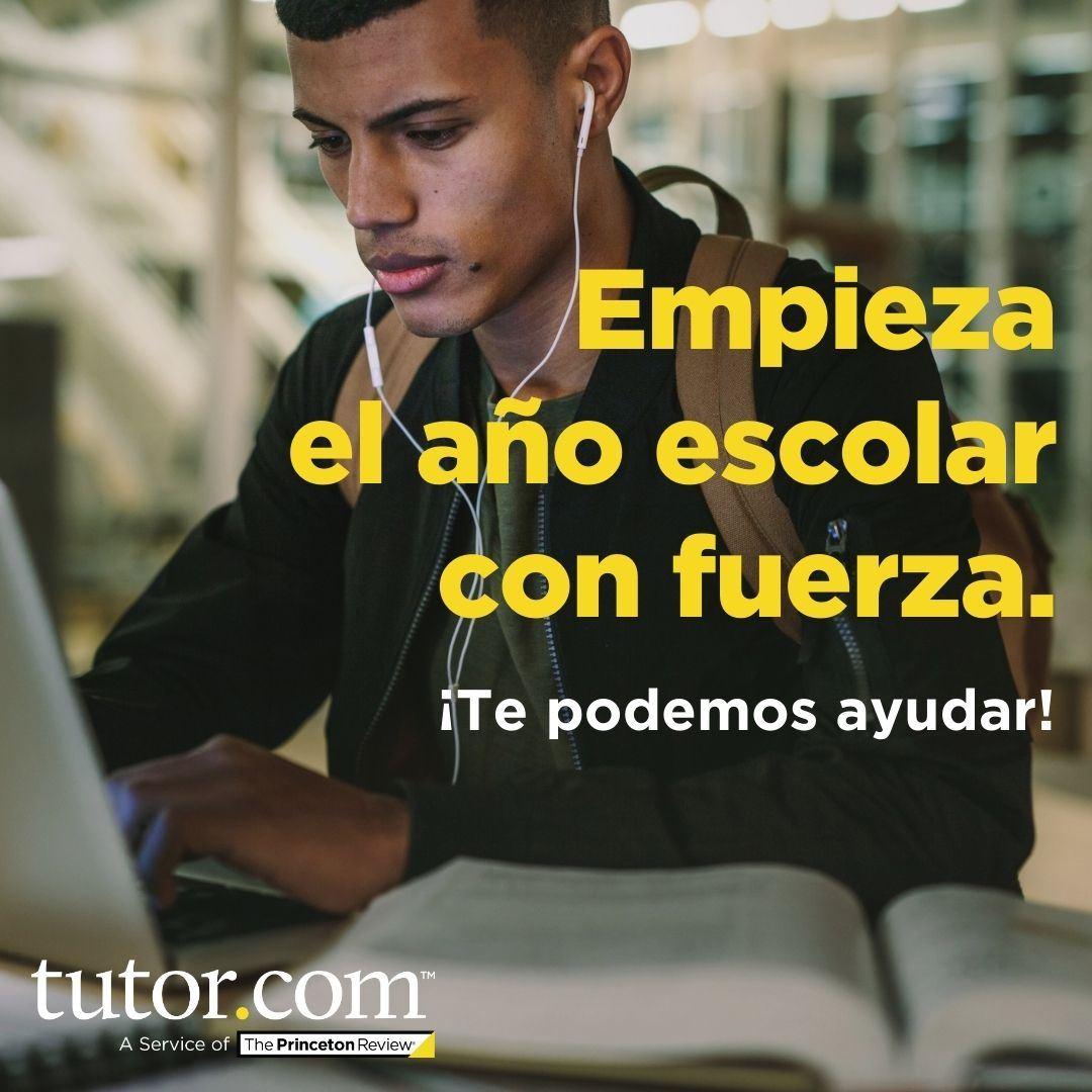 Tutor spanish Opens in new window