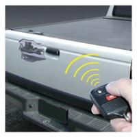 Electric tailgate lock